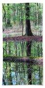 Forest Wetland Beach Towel
