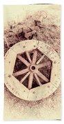 Forgotten Work Beach Towel
