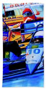 Formula 1 Race Beach Towel