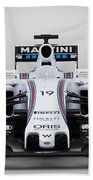Formula 1 Williams Fw37 Beach Towel
