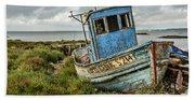 Forsaken Fishing Boat Beach Sheet