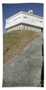 Fort Mcclary - Kittery Maine Usa Beach Sheet