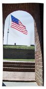 Fort Mchenry Star Spangled Banner Beach Towel