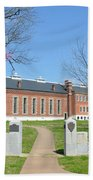 Fort Smith National Historic Site Gateway C Beach Towel