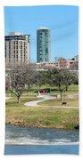 Fort Worth Trinity Park Beach Towel