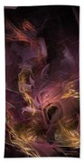 Fortress Of The Mind - Fractal Art Beach Towel