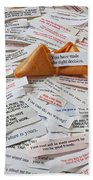 Fortune Cookie Sayings  Beach Sheet