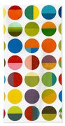 Forty Nine Circles Beach Towel