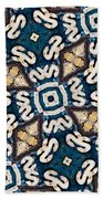 Fossil Road Mosaic Beach Towel