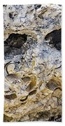 Fossil Rock Abstract - Eyes Beach Towel