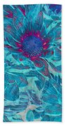 Foulee De Petales - A01t Beach Towel by Variance Collections