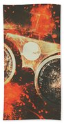 Foundry Formations Beach Towel