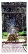 Fountain  Beach Towel