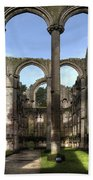 Fountains Abbey 4 Beach Towel