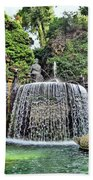 Fountains.  Tivoli. Beach Towel