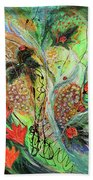 Four Seasons Of Vine Summer Beach Towel
