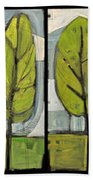 Four Seasons Tree Series Beach Towel