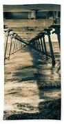 Fowlers Bay Jetty Beach Towel