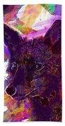 Fox Animal Tuscany  Beach Towel
