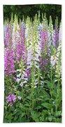 Foxglove Garden - Vertical Beach Towel