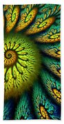 Fractal Abstract 061710 Beach Towel