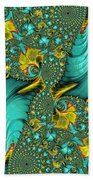Fractal Art - Gifts From The Sea By H H Photography Of Florida Beach Towel