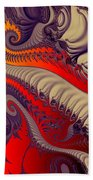 Fractal Fill Beach Towel