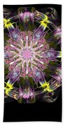 Fractal Flowers 10-20-09 Beach Towel