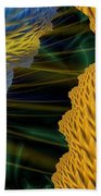 Fractal Storm Beach Towel