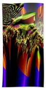 Fractal Torch Beach Towel