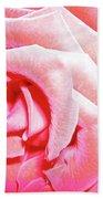 Fragrant Rose Beach Towel