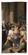 France: Bread Riot, 1793 Beach Sheet