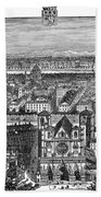 France, View Of Lyon, C1894 - To License For Professional Use Visit Granger.com Beach Towel