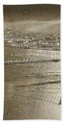 Francisco Sky Line Vintage  Beach Towel