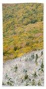 Franconia Notch State Park - White Mountains Nh Usa Autumn Beach Towel