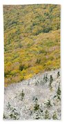 Franconia Notch State Park - White Mountains Nh Usa Autumn Beach Sheet