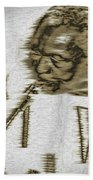 Frank Morgan Beach Towel