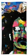 Frank Zappa Pop Art Beach Towel