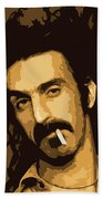 Frank Zappa Beach Towel
