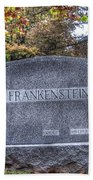 Frankenstein Beach Towel