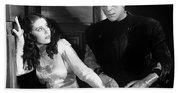 Frankensteins Monster Molests Young Girl Boris Karloff Beach Towel