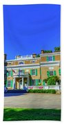 Franklin Delano Roosevelt's House Beach Towel