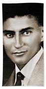 Franz Kafka Beach Towel