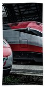 Freccia Rossa Trains. Beach Towel