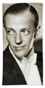 Fred Astaire, Vintage Actor And Dancer Beach Towel