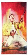 Freddy Mercury Beach Towel