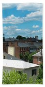 Fredericksburg Roof Tops Beach Towel