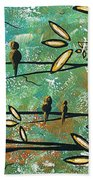 Free As A Bird By Madart Beach Towel
