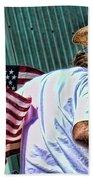 Freedom Man Beach Towel