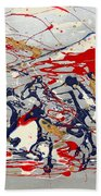 Freedom On The Open Range Beach Towel